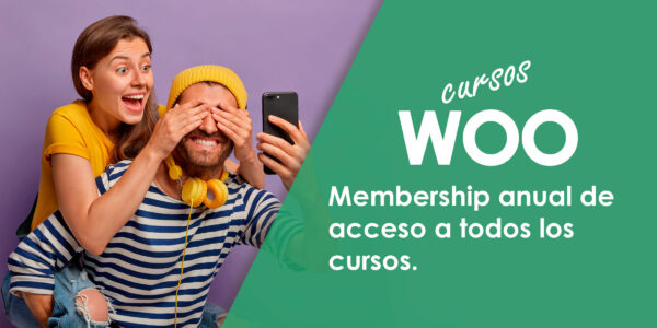 Membership Anual Woo Cursos